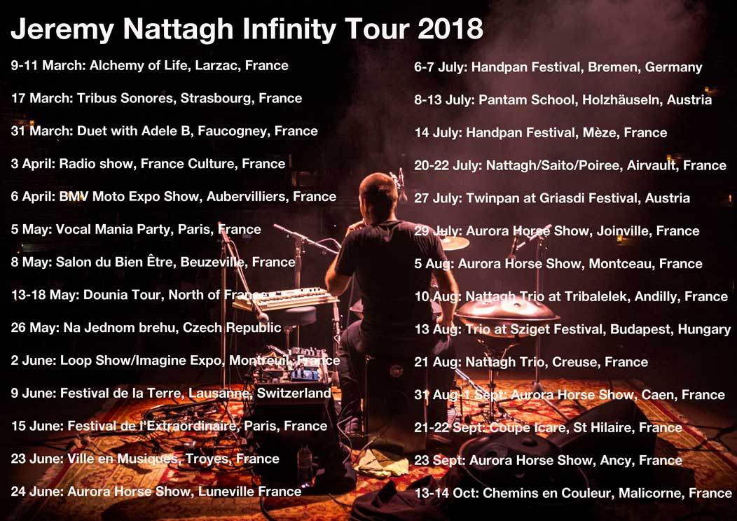 Flyer Infinity Tour 2018 nattagh hang bd