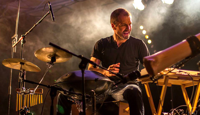 Festival Ville en musique Troyes concert jeremy nattagh multiman hang handpan