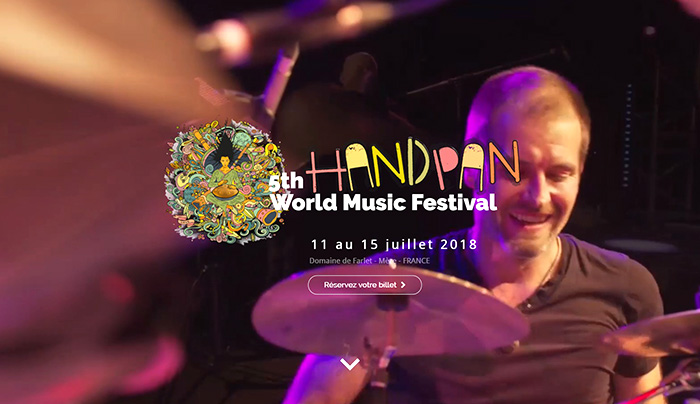 New Electro Show Handpan Festival France jeremy nattagh multiman hang handpan
