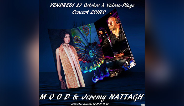 concert jeremy nattagh Mood valras plage hang handpan multiman