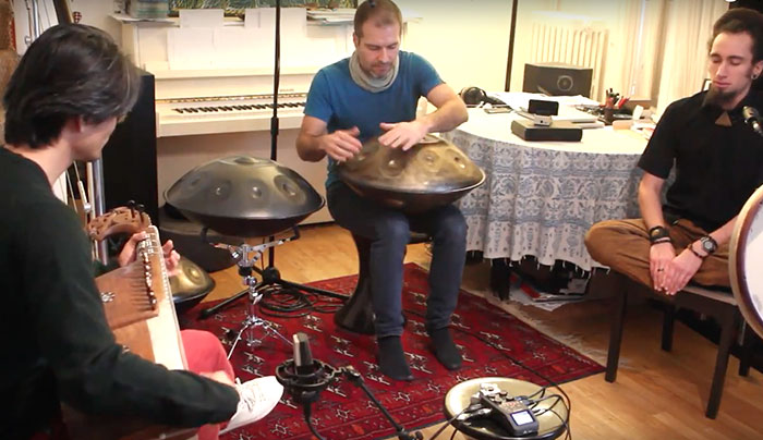 jeremy nattagh Nattagh Saito Poiree Rythmes du Monde Melodies du Coeur Peniche Anako Paris multiman hang handpan