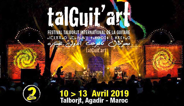 Festival Tal Guitart duo Yves Mesnil Agadir Maroc jeremy nattagh multiman hang handpan