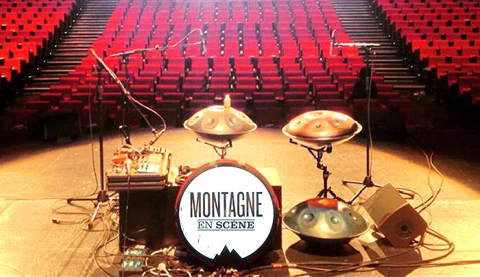 concert jeremy nattagh ouverture pour Montagne en Scene Palais des Congres Paris hang handpan multiman